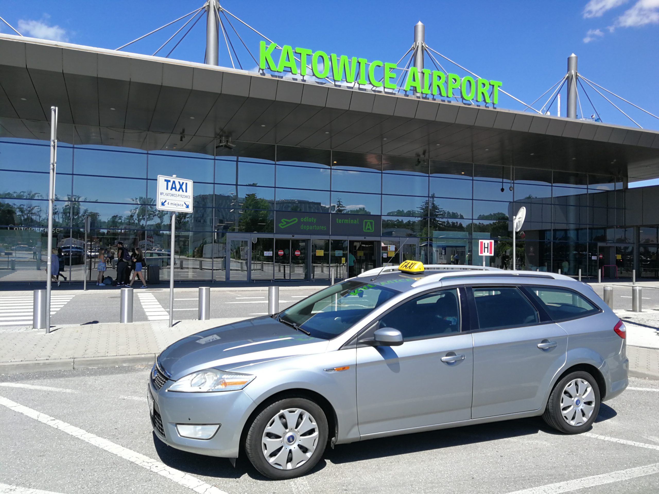 Taxi Airport Katowice - GB, US 2